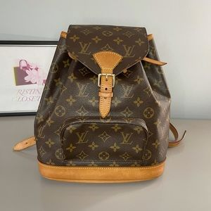 Authentic Louis Vuitton backpack mm